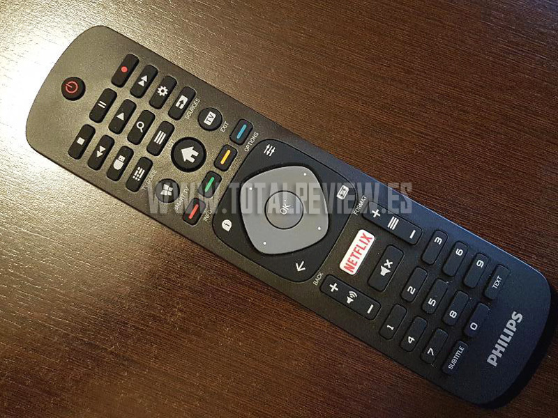 Mando del televisor Philips Smart TV 43PFS5803/12