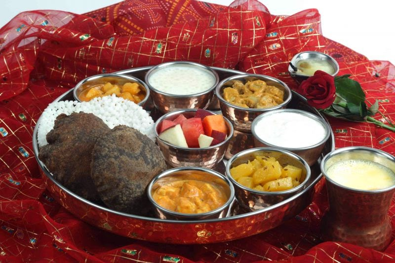 Image result for navratri chaitra thali