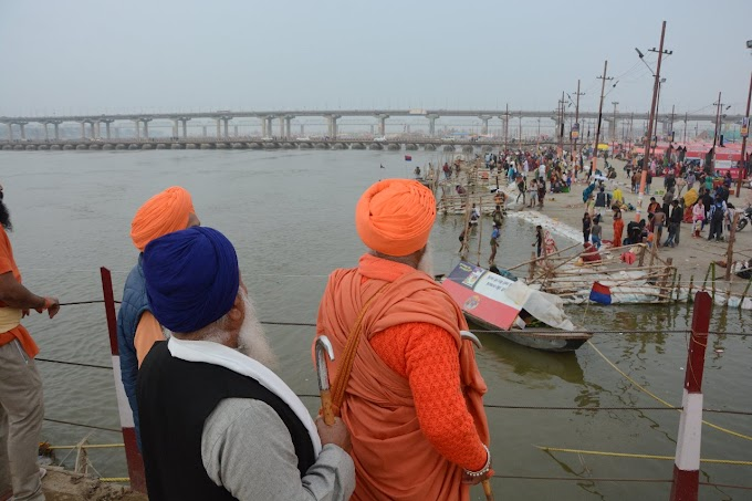 Polluted Sangam Paryagraj : It's to play with the religious belief of the millions of people.