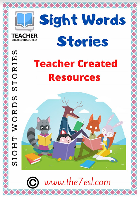 Sight Words Stories Reading Comprehension Part 1