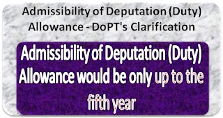deputation-allowance-dopt-clarification