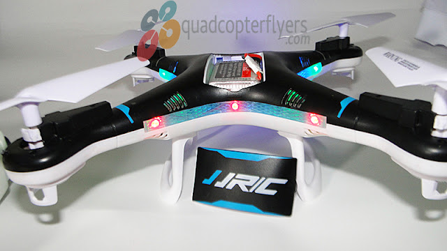 JJRC H5P Quadcopter Battery Compartment