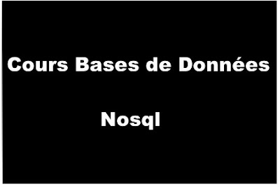 Cours Bases de Données Nosql