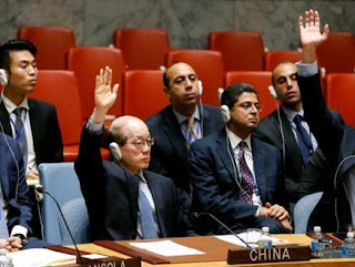 Chinese envoy to the United Nations