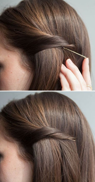 Peinados faciles y rapidos Cola con todo el cabello (3 Opciones  - Opciones De Peinados Faciles