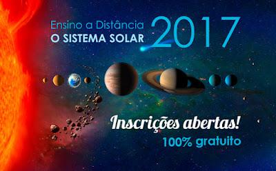 """Observatório Nacional abre as inscrições para o curso a distância """"O Sistema Solar"""""""
