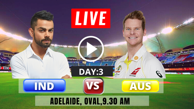 IND vs AUS, test 1, Day 3, India is batting