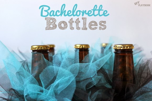 Make these Bachelorette Beer Bottles for your next party!