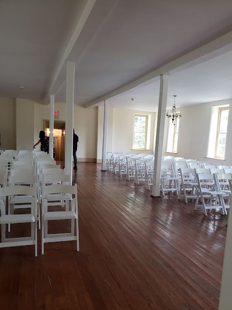 the washington indoor ceremony room