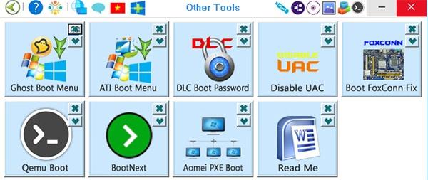 Cách tạo Boot đa năng cho USB bằng phần mềm DLC Boot  b