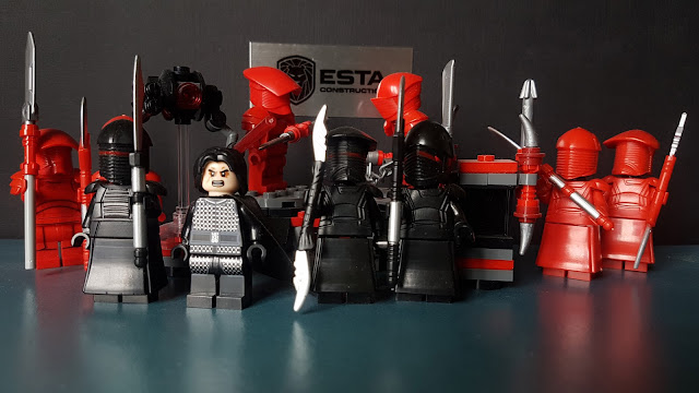 Lego Elite Praetorian Guard and Elite Shadow Praetorian Guard  Star Wars First Order Lego