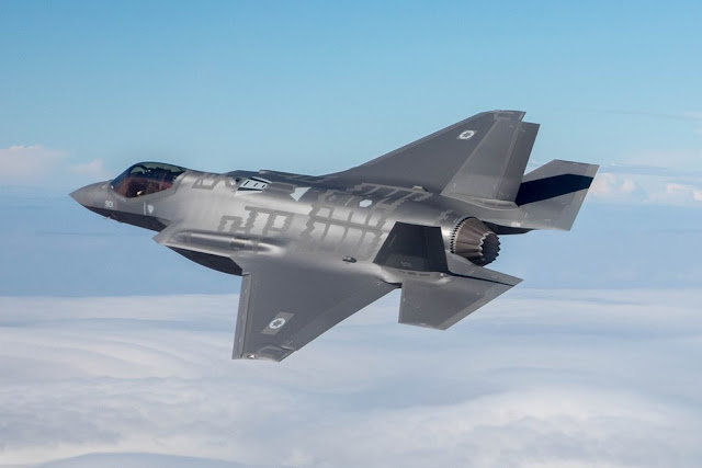 Israel first nation strike F-35