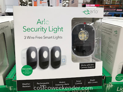 Don't skimp on security with Arlo Smart Security Lights