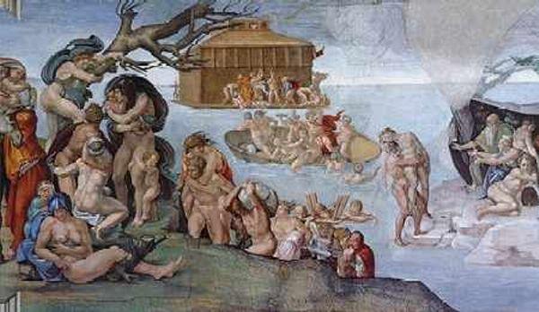 Αποτέλεσμα εικόνας για Ο κατακλυσμός του Δευκαλίωνα»
