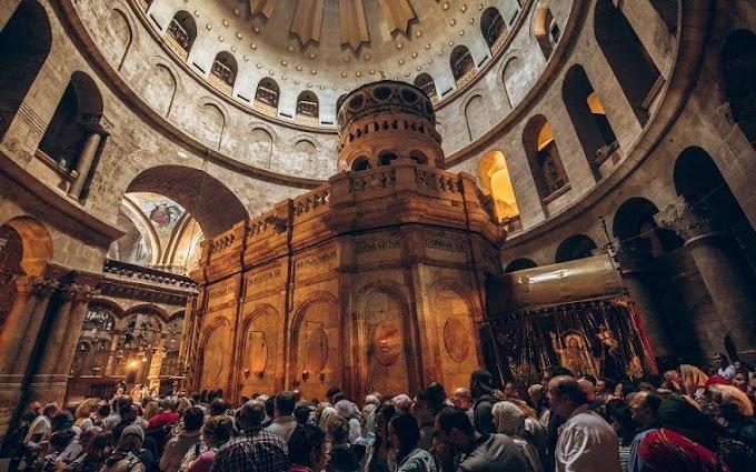 Ιεροσόλυμα: Ανοίγει ξανά μετά από 2 μήνες ο Ναός της Αναστάσεως