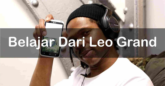 Leo grand ialah salah satu pencipta aplikasi berjulukan  Belajar Dari Leo Grand