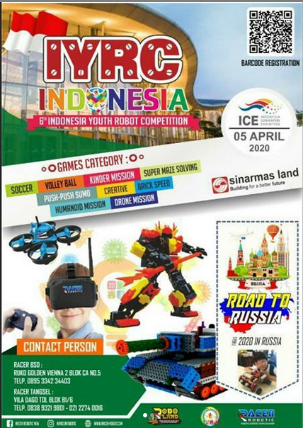 Indonesian Youth Robot Competition - Racer Robotic