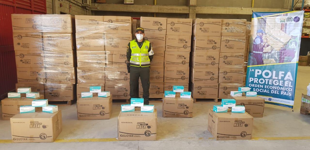 hoyennoticia.com, Más de 6 mil tapabocas de contrabando incautan en Valledupar