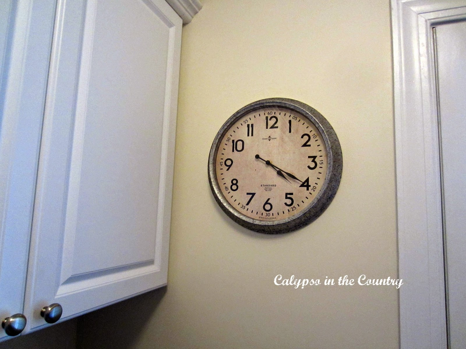 Clocks in my home calypso in the country and this one from the threshold collection at target amipublicfo Images