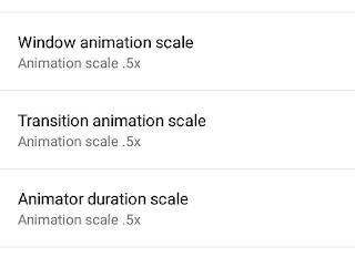 Setting up window animation scale