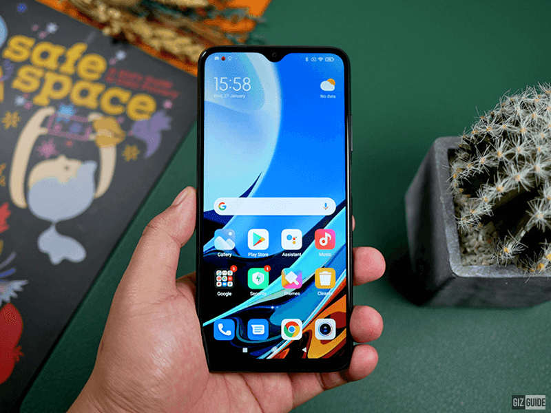 Top 5 features of the Redmi 9T