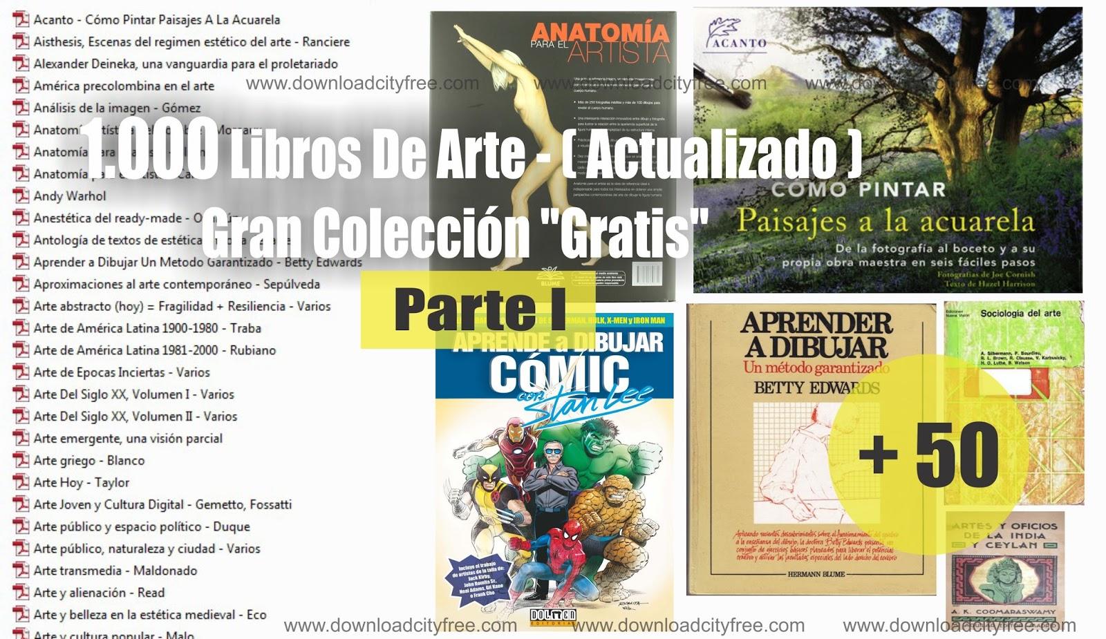 1.000 Libros De Arte - ( Actualizado ) [Parte I] Gran Colección ...