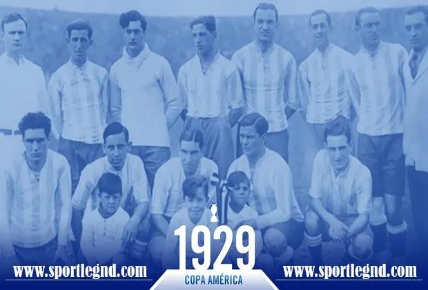 الأرجنتين بطل كوبا امريكا 1929