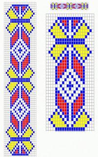 схемы плетения браслетов из бисера легкие