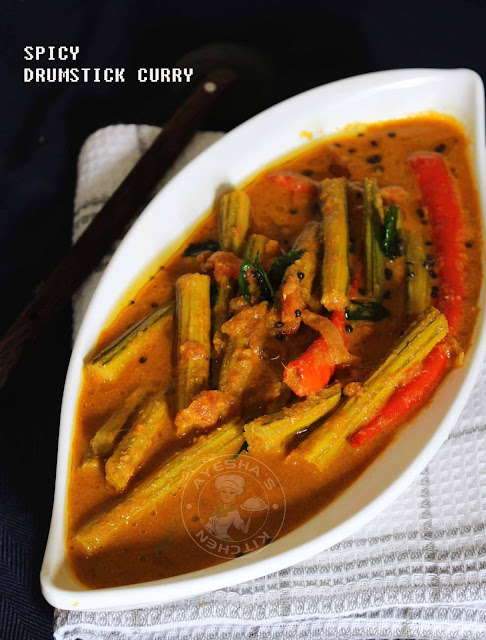 muringakka mulaku curry spicy drumstick curry kerala style curry sadya recipe vegetable curry for rice drumstick stir fried healthy curry indian curry recipe ayeshas kitchen recipes
