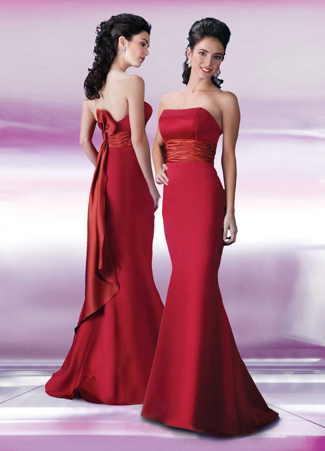 How to Choose Red Bridesmaid Dresses - Bridal Guides