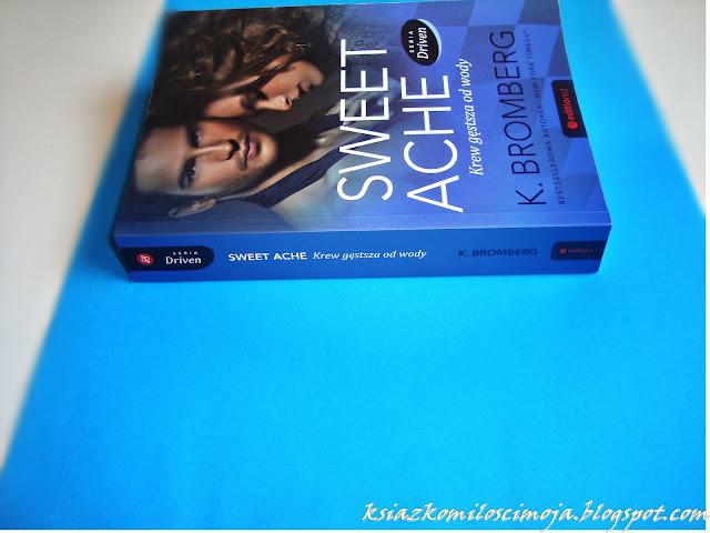 Aweet Ache, Trylogia Driven, roman, erotyk, lepsze od Greya, podobne do Greya, książki takie jak Grey, co czytać po Greyu, ksiązka na jesień, K.Bromberk, gorący romans, rockmani