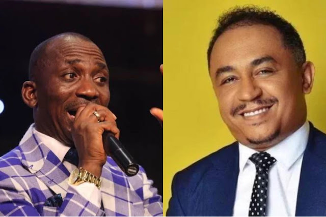 Oyedepo: You're a mad dog with bipolar – Dunamis pastor, Paul Enenche attacks Daddy