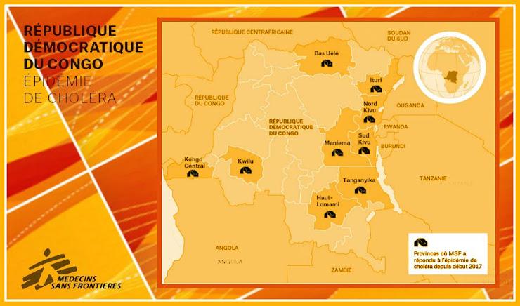 épidémies, choléra, Sud-Kivu, CDR, Médecins Sans Frontières, MSF