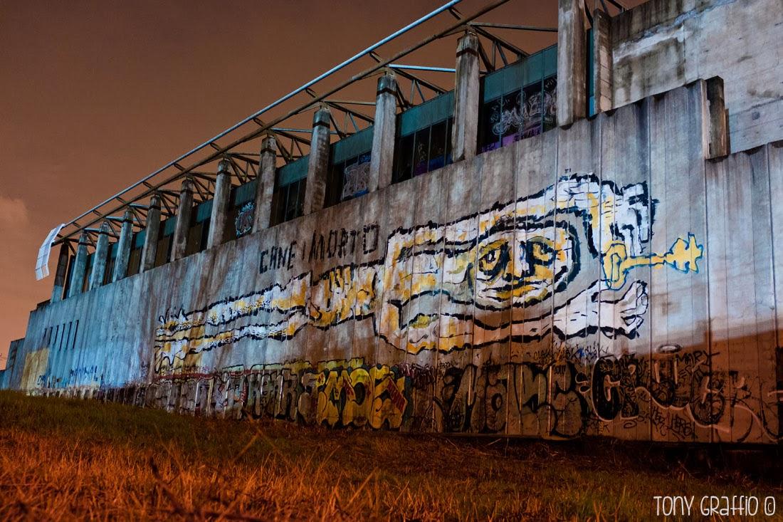 Graffiti fotografati con Fujifilm X100s