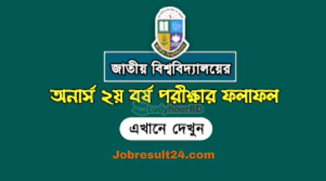 Honors 2nd year results 2020 published by national University