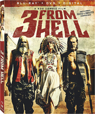 Lionsgate's Blu-ray Cover for Rob Zombie's 3 FROM HELL!