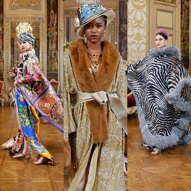 Dolce Gabbana Alta Moda 2020 Digital - passerella virtuale - Autunno-Inverno 2020-2021 di RUNWAY MAGAZINE