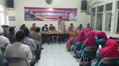 Lepas Sambut Lurah Selembaran Jaya : Program Pembangunan Dilanjutkan Lurah Baru