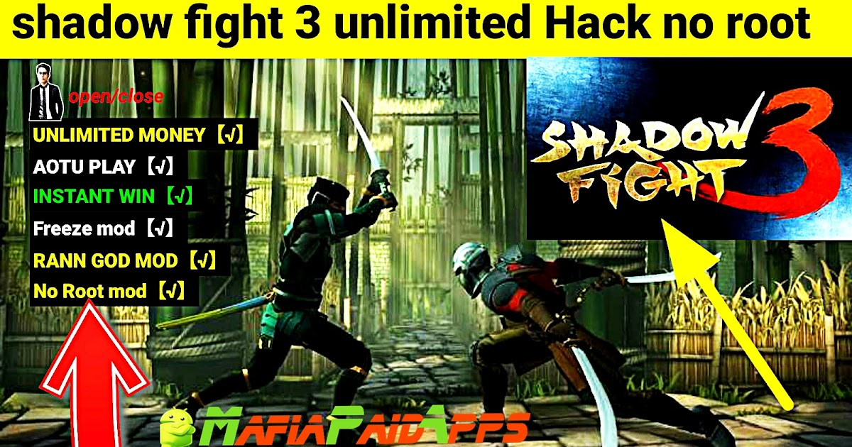 shadow fight 2 apk mod unlimited money and gems android