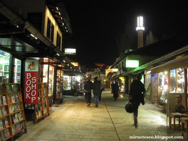 Босния на практике: безопасно ли в Сараево поздно вечером?
