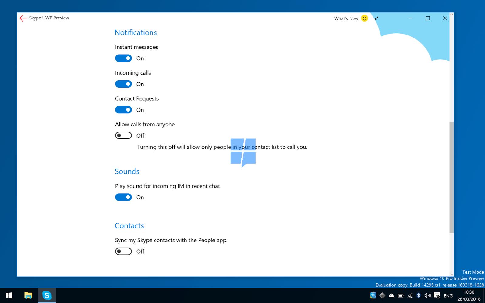 Utilizzo di Skype nella totalità delle sue funzioni htnovo