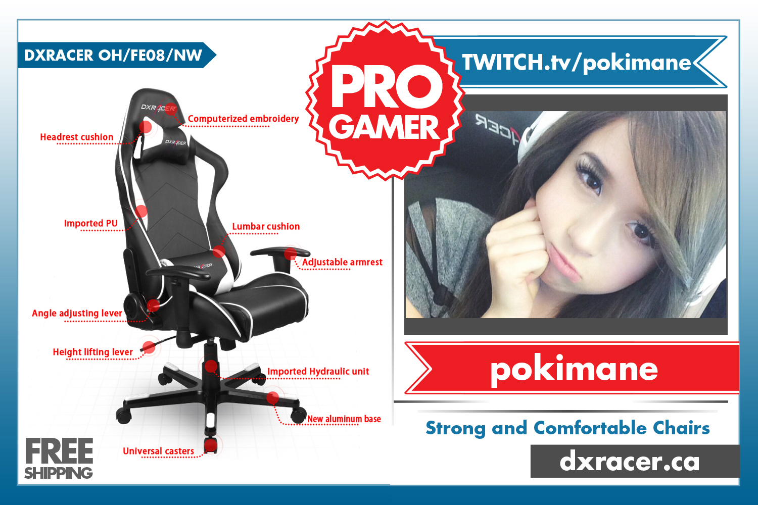 Dxracer Office Chair Canada Large Round Living Room Adk Gaming Community