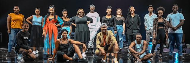 Idols SA announces top 16