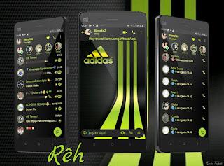 Adidas Theme For YOWhatsApp & Fouad WhatsApp By Reh