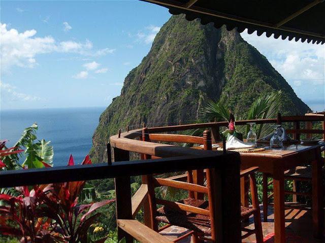 restaurant santa lucia caraibe