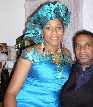 regina askia in nigeria vacation