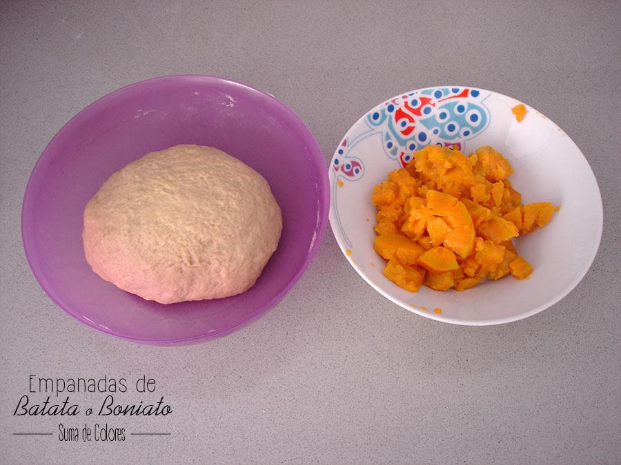 Empanadas de Batata_ Masa y relleno
