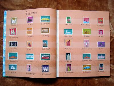 Atlas miast, atlas dla dzieci, książka o miastach, spis treści