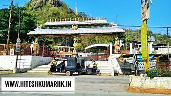 डोंगरगढ़  की पहाड़ी पर  विराजमान है  माँ बम्लेश्वरी, डोंगरगढ़(छ.ग) Maa-bamleshwari-temple-in-dogargarh