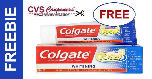 FREE Colgate Toothpaste CVS Deal - 6/30-7/6